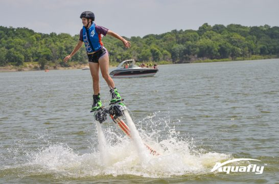Water Wings Lake Texoma In Flight